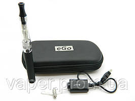 Электронная сигарета  Joye eGo-C Upgrade + E-Turbo  CE5 (1100 mAh) в футляре. Черный цвет