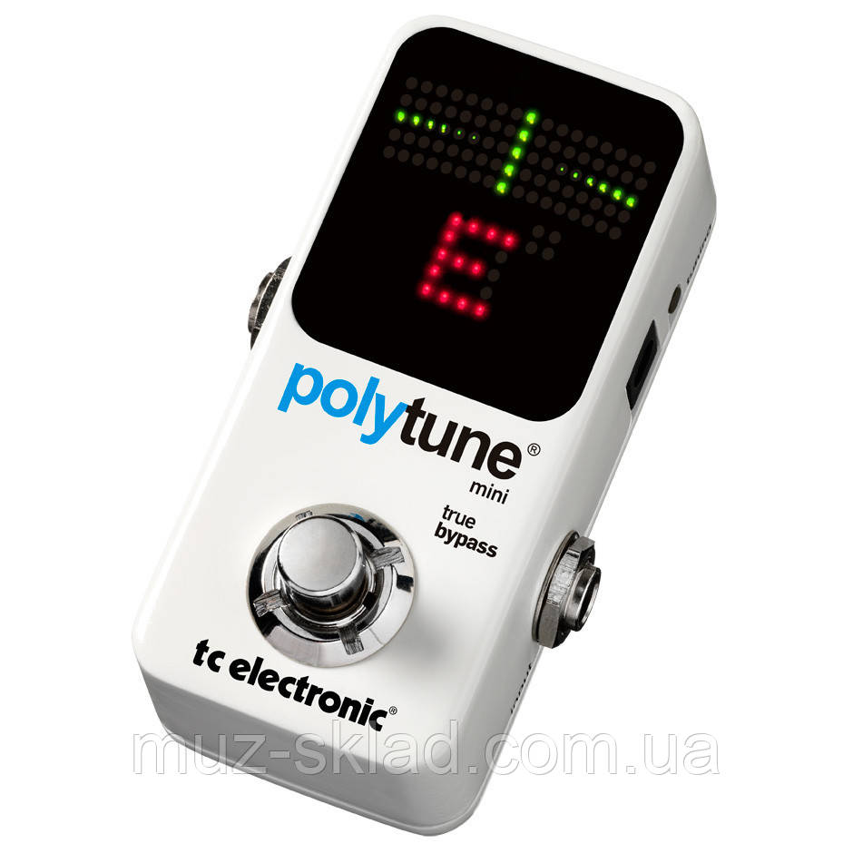 Полифонический тюнер TC Electronic PolyTune Mini