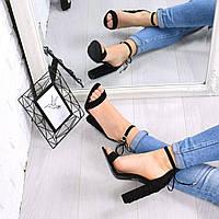 Босоножки женские Nexy черные  , женская обувь