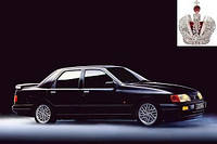 Автостекло, лобовое стекло на FORD (Форд) SIERRA  (1987 - 1993)