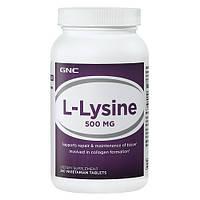 Аминокислоты GNC L-LYSINE 500 (250 caps)