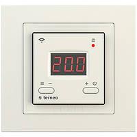 Терморегулятор для теплого пола Terneo AX UNIC WiFi Слоновая кость