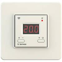Терморегулятор для теплого пола Terneo AX WiFi Слоновая кость