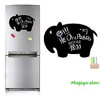 Магнитная доска на холодильник Слон, в подарочном тубусе недорого , фото 1