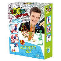 Набор для детского творчества с 3D-маркерами Неон IDo3D 155248, фото 1