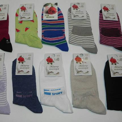 Носки женские короткие с рисунком ТМ Прилуки, фото 2