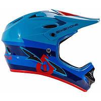 Шлем фулл 661 COMP BOLT HELMET RED/BLUE XL