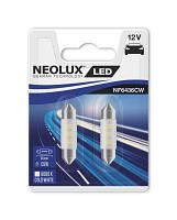 NEOLUX LED C5W 36mm 6000K - мощность 0.5W, в комплекте 2шт