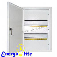Шкаф монтажный ШМР-24В на 24 модуля внутренний, для монтажа электрооборудования