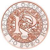 Австрія 10 євро 2018 р. Архангел Рафаїл , UNC., фото 2