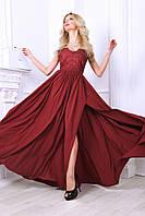 Нарядное вечернее длинное платье (4 цвета), фото 1