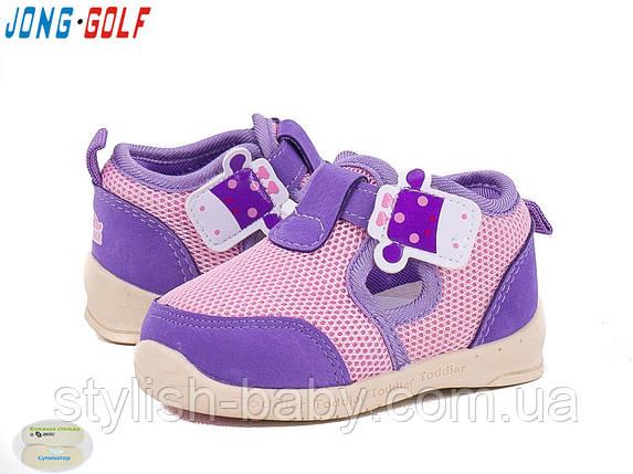 Детская обувь оптом. Детская спортивная обувь бренда Jong Golf для девочек (рр. с 18 по 23), фото 2