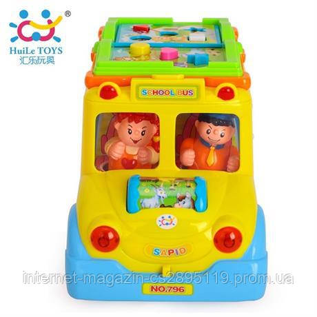 """Игрушка Huile Toys """"Школьный автобус"""" (796)"""