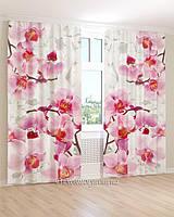Фотошторы светло-розовая орхидея