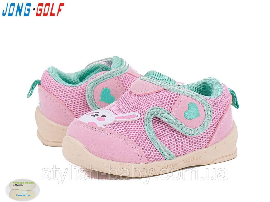 Детская обувь оптом. Детская спортивная обувь бренда Jong Golf для девочек ( рр. с 18 по 23) 911850d2fde
