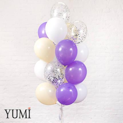 Букет на подарок из 20 шариков с гелием, фото 2