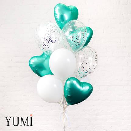 Стильный подарок из 13 воздушных шариков для подруги, фото 2