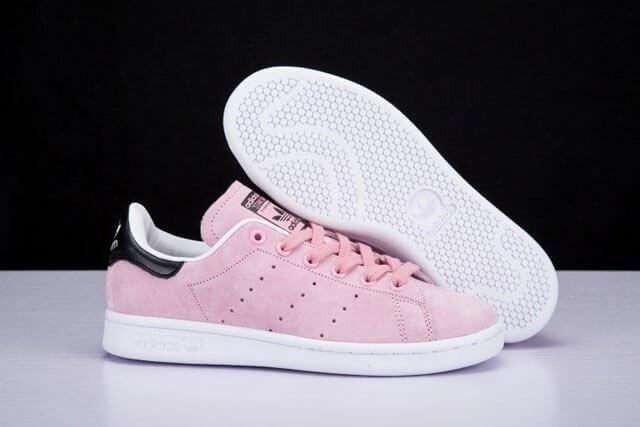Adidas Stan Smith Femme Blanc Rose