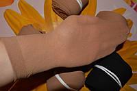 Женские носки, капрон. Беж и черные
