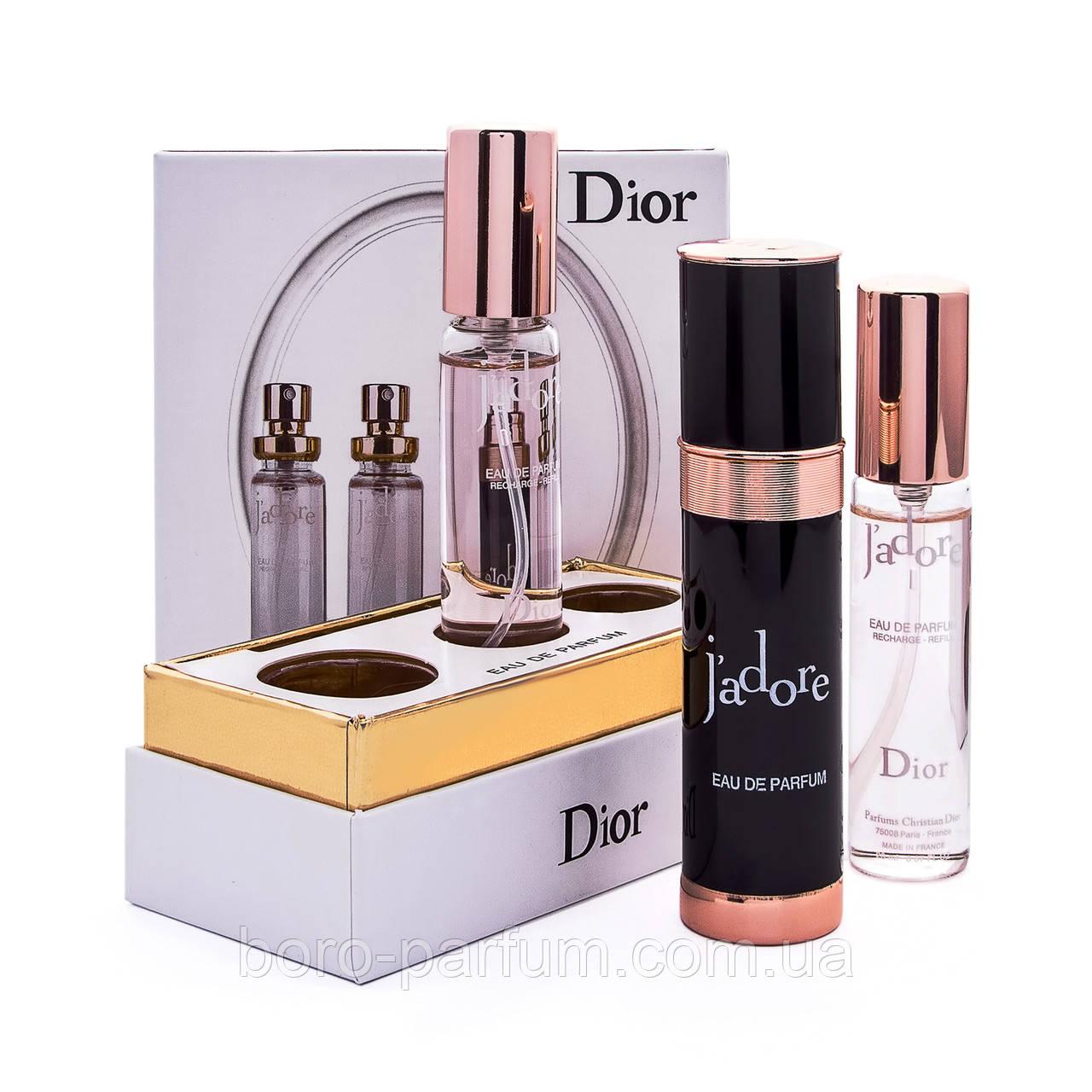 набор Christian Dior Jadore 3 20 мл Black продажа цена в харькове