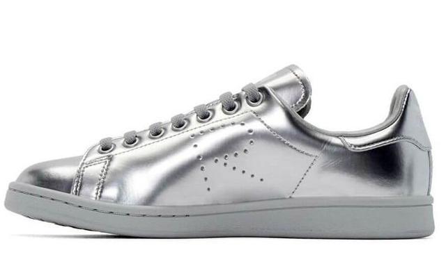 Adidas Stan Smith X Raf Simons Metallic Silver