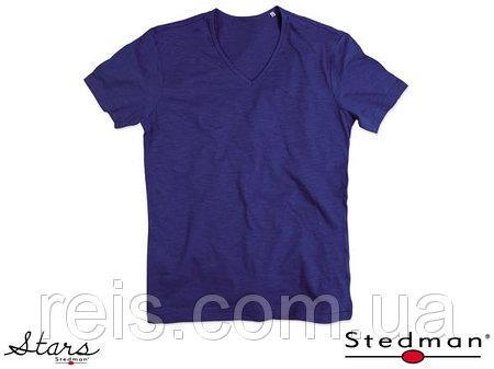 Мужская футболка с V-образным воротом SST9410 TUB