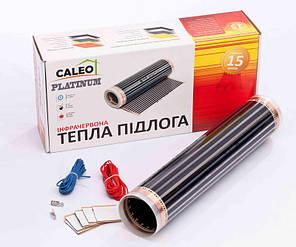 Плёночный инфракрасный тёплый пол, потолок тм Caleo PLATINUM 220Вт.х1мкв. (0,5м. х 2м) пр-ваКорея Комплект