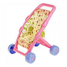 Куклы и пупсы «ТехноК» (2711) Кукольная коляска Фея, (управляемые колеса)