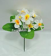 Искусственный куст нарцисса с белыми цветами , фото 1