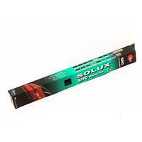 Пленка на лобовое стекло SOLUX Black/Silver 150см