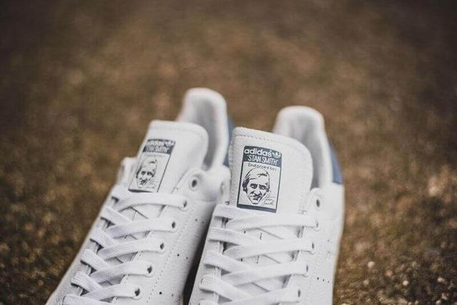 Adidas Stan Smith Vintage White Blue