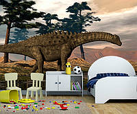 "3D фотообои ""Динозавр и вода"""