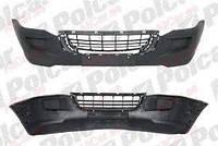 Бампер передний без отв п/т VW Crafter Polcar
