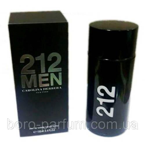 Carolina Herrera 212 Men Black туалетная вода для мужчин 100ml