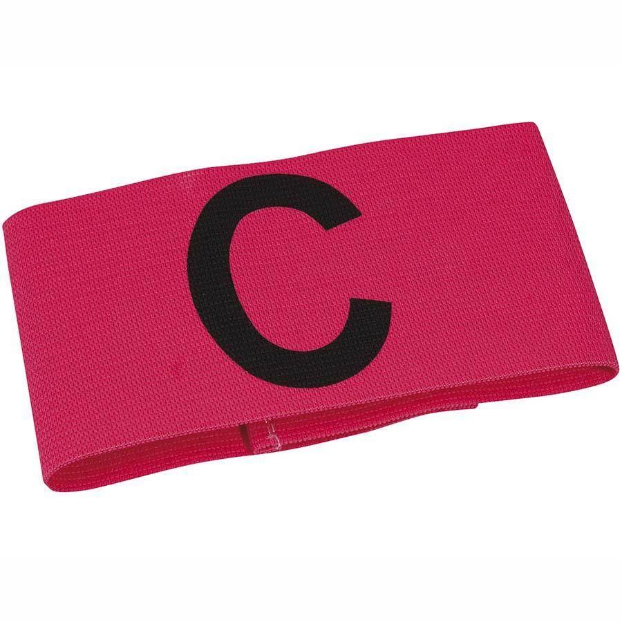 Капитанская повязка SELECT CAPTAIN'S BAND Velcro, розовая