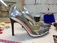 Женские туфли -лодочки из натуральной кожи