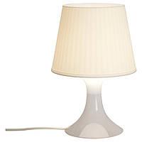 Настольная лампа IKEA LAMPAN белая 200.469.88