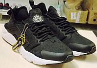 Мужские Кроссовки Nike Huarache Хуарачи Черные