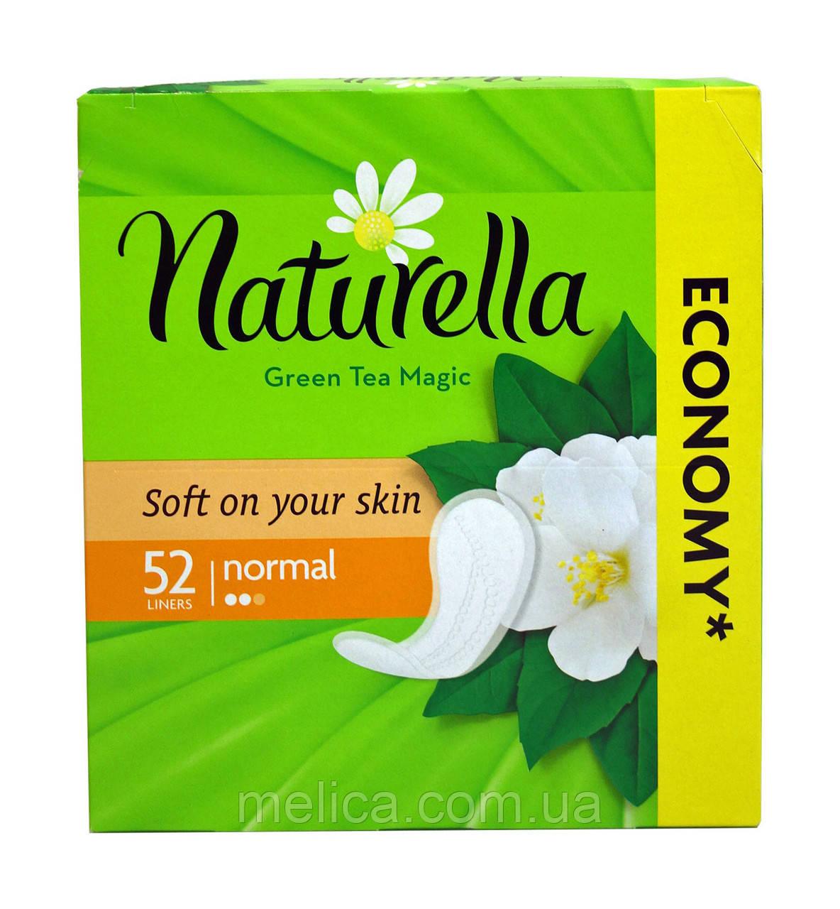 Ежедневные прокладки Naturella Green Tea Magic Normal - 52 шт.