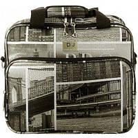 Сумка кейс David Jones 7021 Brooklyn, Средний, дорожный чемодан, дорожная косметичка