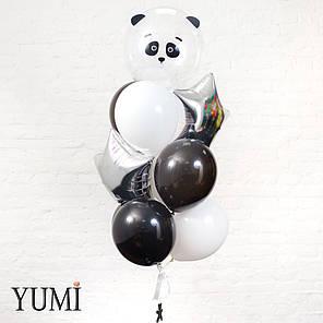 Милая композиция из 10 воздушных шариков для ребенка, фото 2