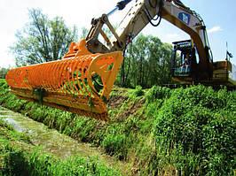 Режущий ковш для очистки водных каналов Mowing Bucket MRZT (2.5-5.5 м)