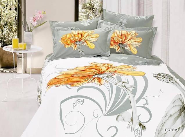 Комплект постельного белья ARYA сатин Rotem полуторный, фото 2