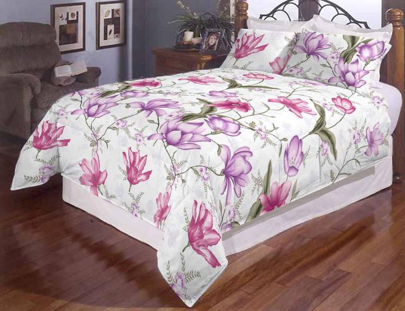 """Півтораспальний постільний комплект """" Квіткова павутинка"""", фото 1"""