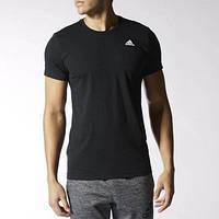 Футболка спортивная, мужская adidas Men's Essentials Tee - Blacks S17643 адидас, фото 1
