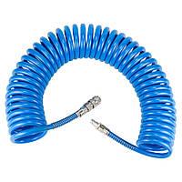 Шланг спиральный 8 мм полиуретановый 10 метров Sigma 7012221, фото 1