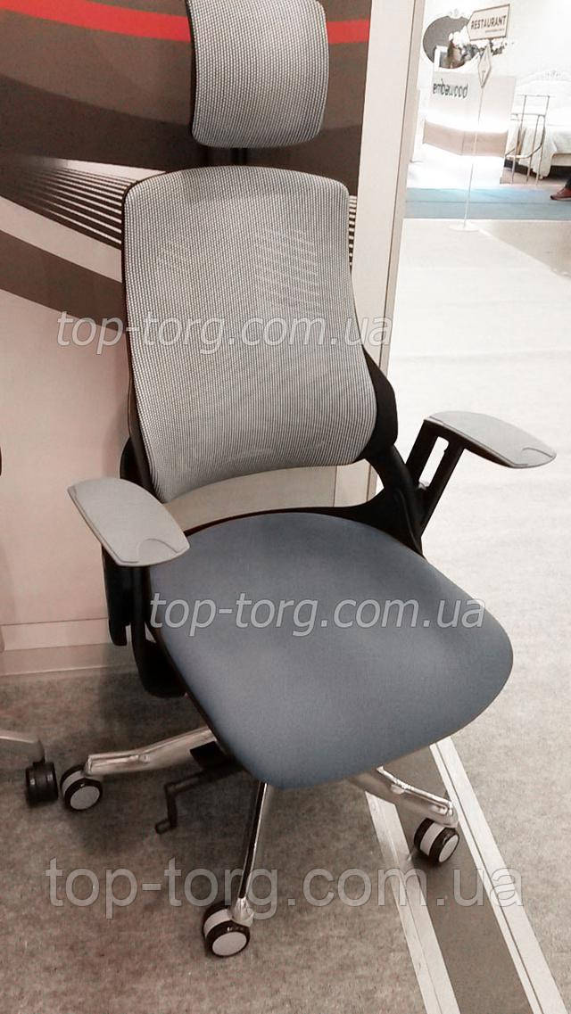 WAY Кресло офисное Wau slatеgrey fabric, snowy nеtwork E0796