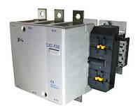 Контактор електромагнітний CNC CJX2-F, АС-3, 115-800A, мінімальний вміст срібла 85%