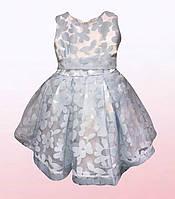 Нарядное платье для девочек в расцветках (1603/1)