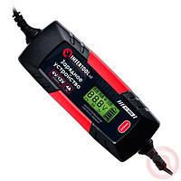 Зарядное устройство 6/12В, 1/2/3/4А, 230В, зимний режим зарядки, дисплей, максимальная емкость заряжаемого акк